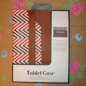 """Leather Tablet Case Fits Up To 10.1"""""""